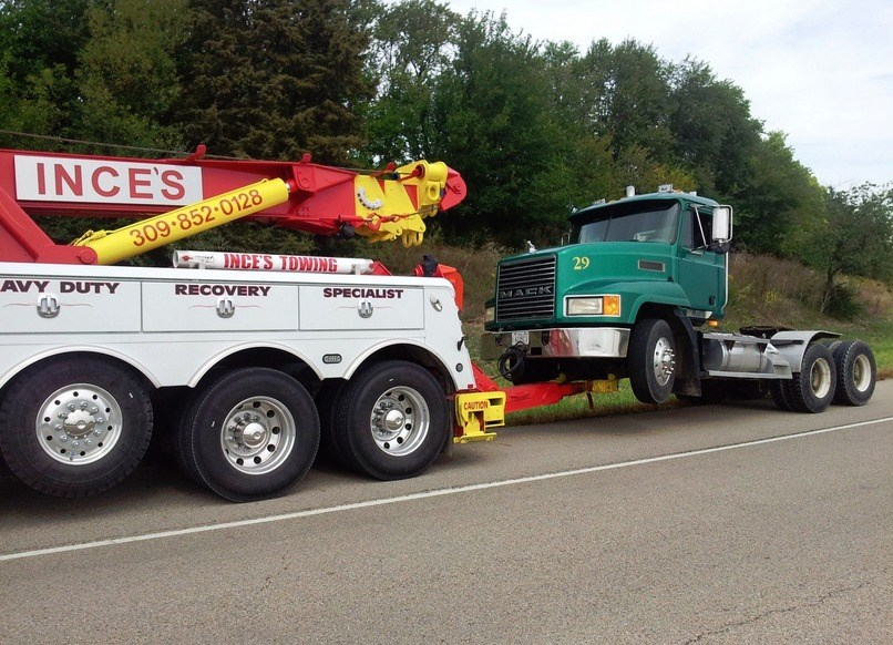 Ince's Towing Servicing Kewanee for Auto Repair and Towing