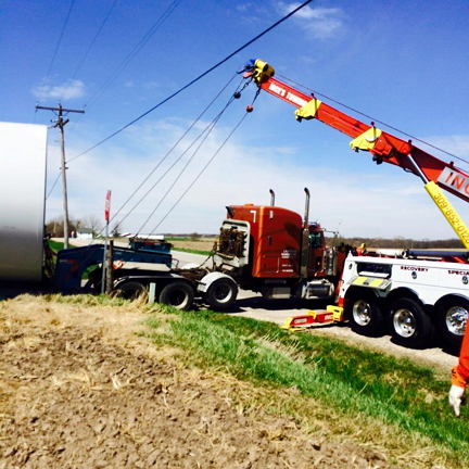 heavy duty towing & recovery Galva, IL